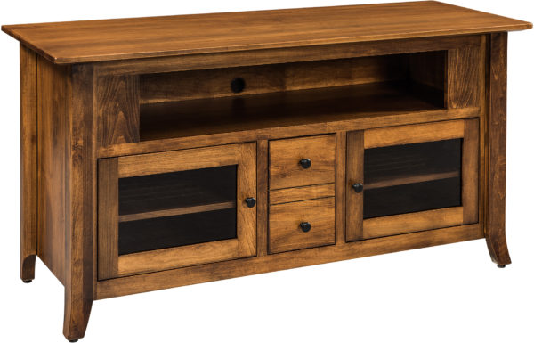 Amish Vanderbilt 59 Inch TV Cabinet