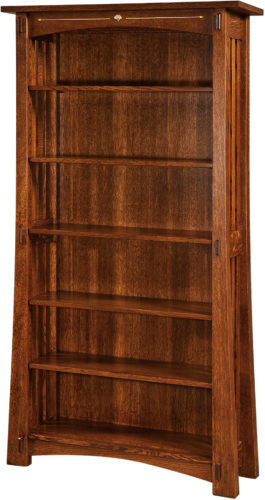 Amish Mesa 72 Inch Bookcase
