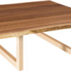 Amish Kalispel Live Edge Square Coffee Table