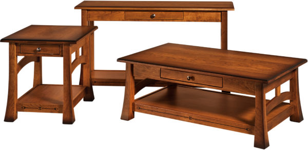 Amish Brady Occasional Table Set