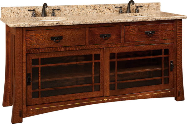 Amish Morgan Double Basin Free Standing Sink