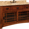 Amish Morgan Large Sink Cabinet