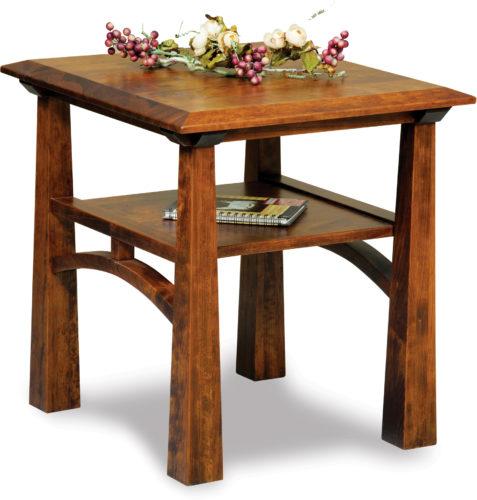 Amish Artesa End Table
