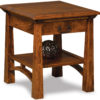 Amish Artesa End Table with Drawer