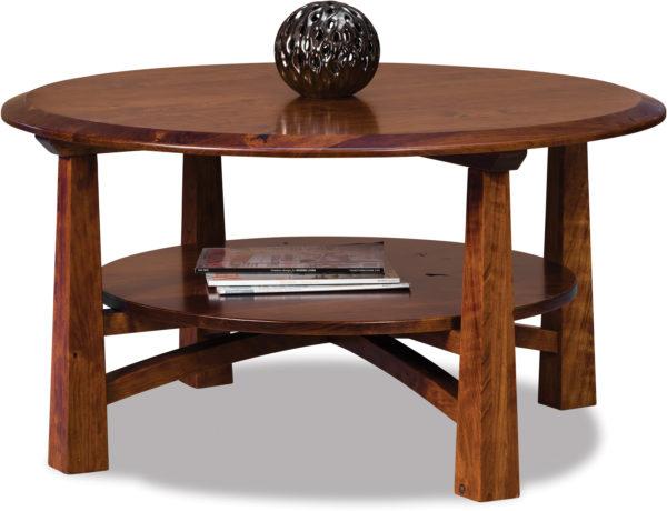 Amish Artesa Round Coffee Table