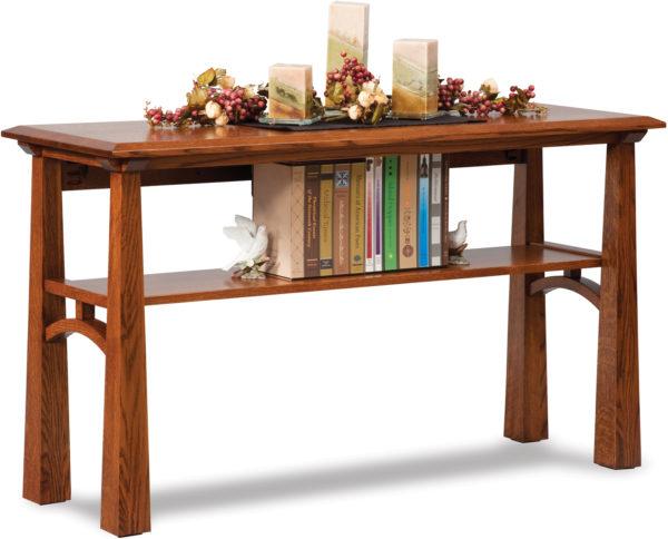 Amish Artesa Sofa Table