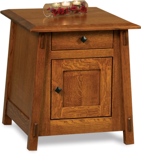 Amish Colbran Enclosed End Table