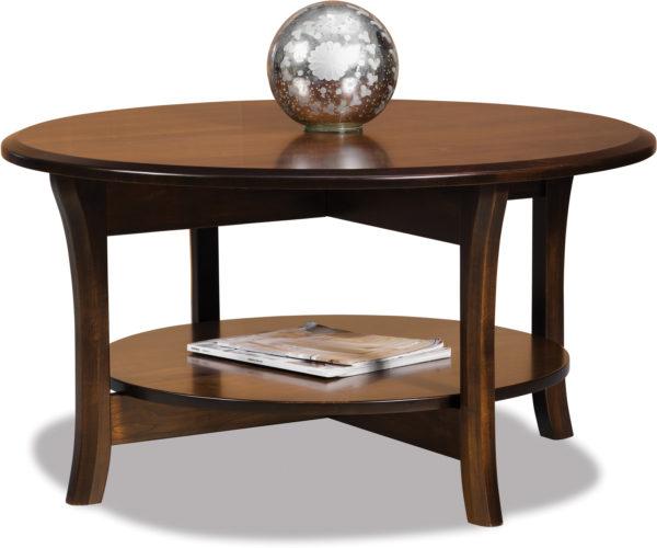 Amish Ensenada Round Coffee Table