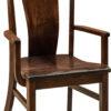 Amish Baldwin Arm Dining Chair