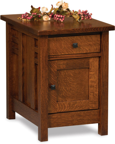 Amish Kascade Enclosed End Table