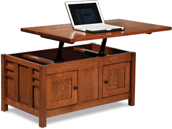 Amish Kascade Coffee Table with Lift-Top