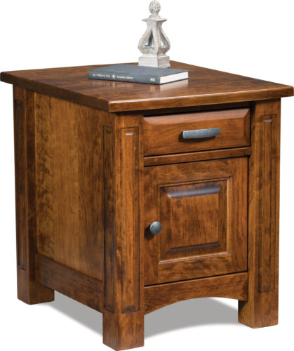 Amish Lexington Enclosed End Table