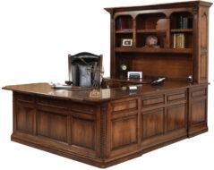Lexington U-Shape Desk and Hutch