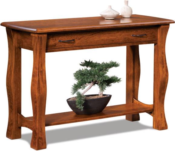 Amish Reno Sofa Table