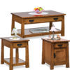 Amish Modesto Occasional Tables