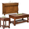 Amish Old Classic Sleigh Occasional Tables