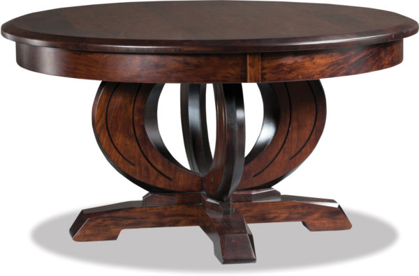 Amish Saratoga Round Coffee Table