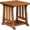 Amish Garber Large End Table