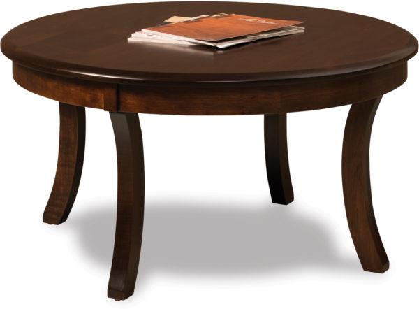 Amish Sierra Round Coffee Table