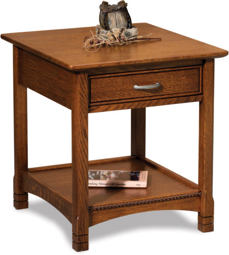 Amish West Lake Open End Table