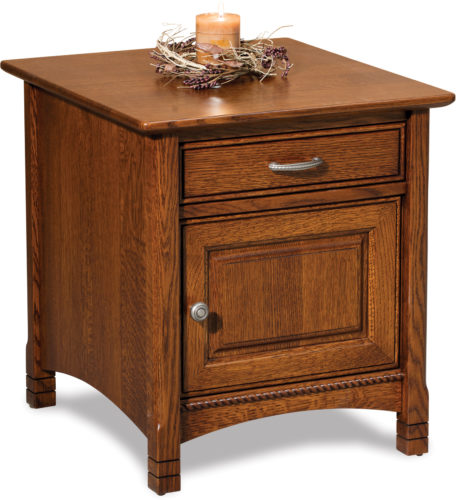 Amish West Lake Enclosed End Table
