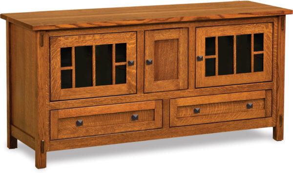 Amish Centennial Three Door TV Stand