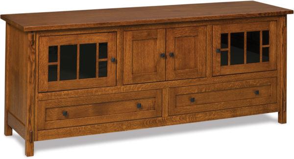 Amish Centennial Four Door TV Stand