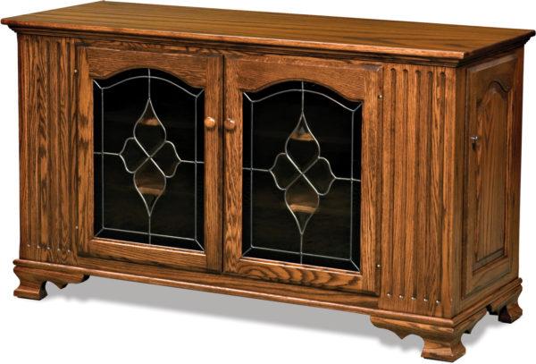 Amish Hoosier Heritage Side Door TV Stand