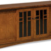 Amish 72 inch Kascade Four Door LCD Stand