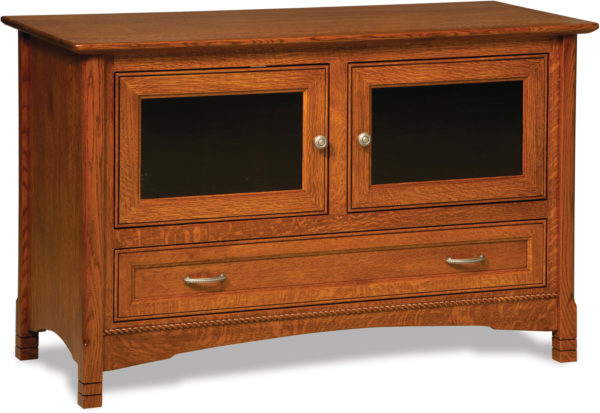 Amish West Lake Two Door TV Stand