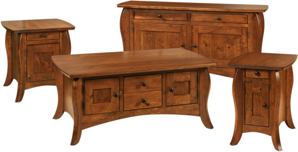 Amish Quincy Occasional Table Set
