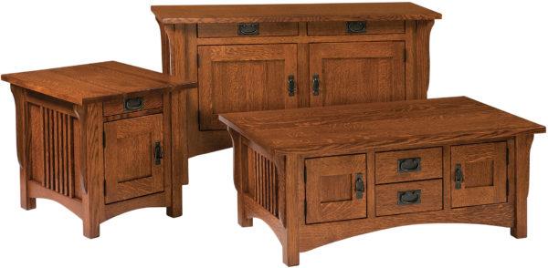 Amish Logan Occasional Table Set