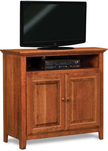 Amish Shaker Two Door TV Stand