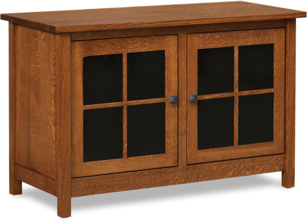 Amish Mission Two Door TV Stand