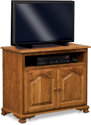 Amish Hoosier Heritage Two Door TV Stand