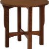Custom Landmark Large Round End Table