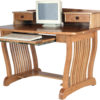 Amish Royal Mission Desk with Topper