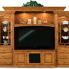 Amish 8-Piece Hoosier Heritage Wall Unit