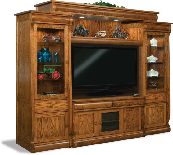 Amish Old Classic Sleigh 6-Piece Wall Unit