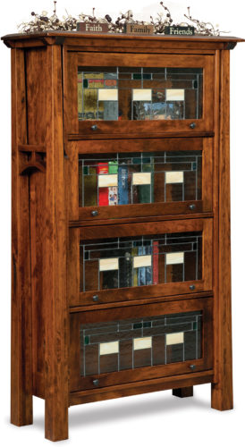 Amish Artesa Barrister Bookcase