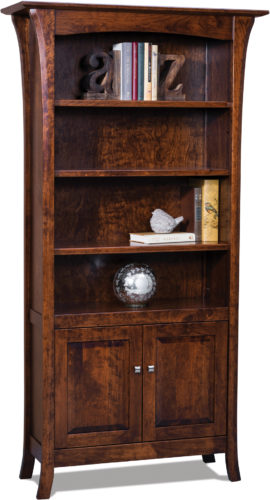 Amish Ensenada Two Door Bookcase
