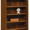 Amish 6 ft. Old Classic Sleigh Bookcase
