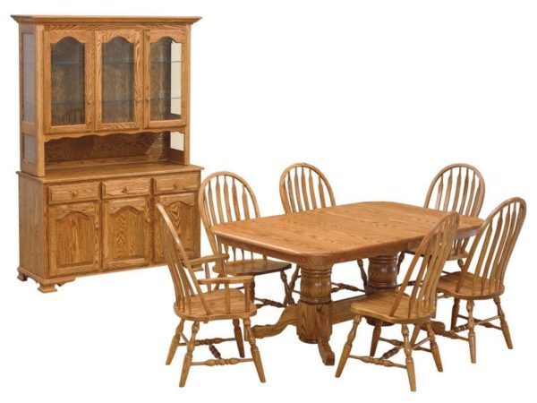 Amish Double Pedestal Dining Collection