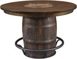 Clermont Single Barrel Pub Table