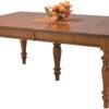 Amish Harvest Leg Dining Table