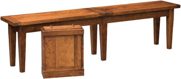 Amish Jacoby Dining Bench