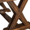 Amish Knoxville Trestle Table Leg Detail