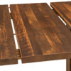 Amish Lynchburg Trestle Table Leaf Detail