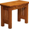 Amish 24 Inch Mission Dining Bench