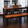 Amish Newbury Dining Room Setting